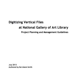 NGA Digitization plan