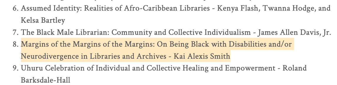 COMING SOON in the book The Black Librarian in America: Reflections, Resistance, and Reawakening